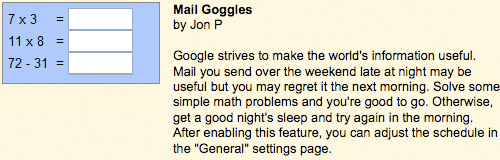 Gmail Goggles