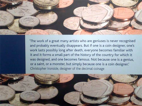The fame of the coin designer