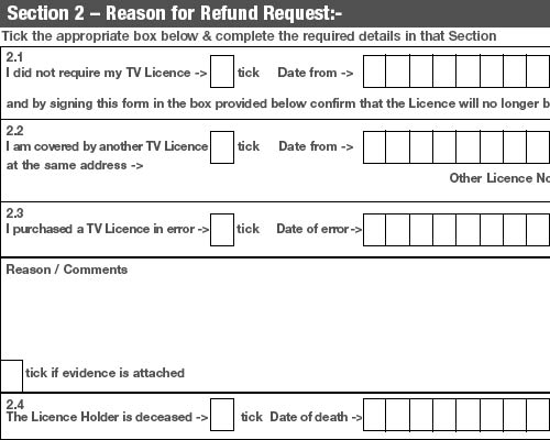 The bbc stole my money and now im battling to get a tv licence refund tv licence refund form altavistaventures Images