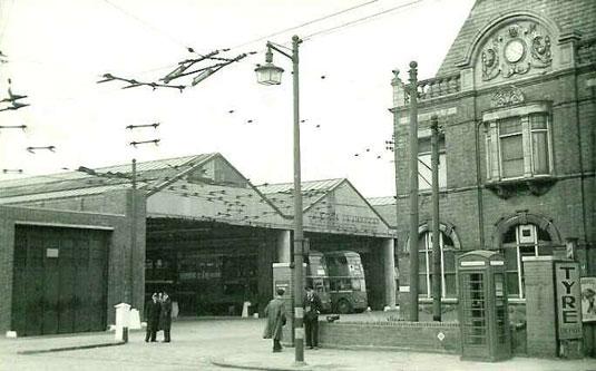 1950s Tram Office