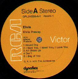 RCA Dynaflex label