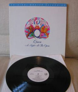 A Night At The Opera audiophile pressing