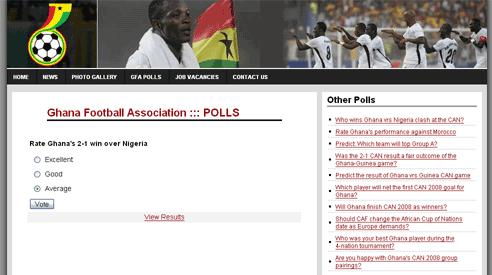 Ghana FA site vote