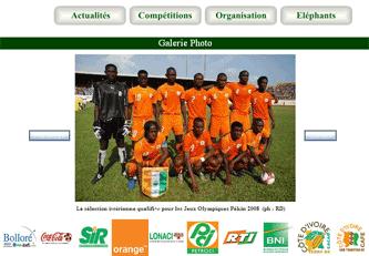 Ivory Coast photo gallery site