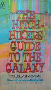 Hitch-Hikers Guide To The Galaxy book cover