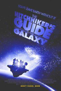 Hitch-Hikers Guide To The Galaxy movie poster