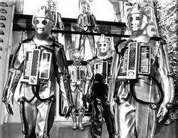 Cybermen emerge from the tomb