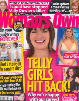 Woman's Own front cover