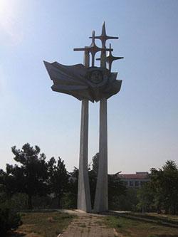 Yuri Gagarin memorial monument