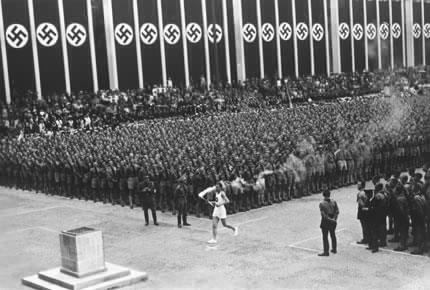 The 1936 Berlin Olympic Torch relay