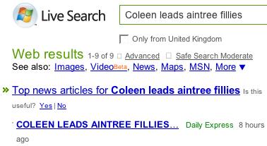 MSN News results