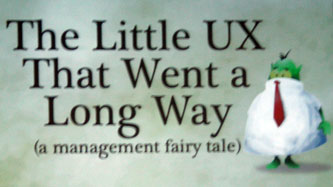 The little UX title slide