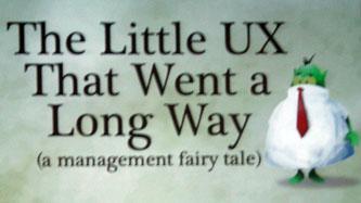 The little UX title slide