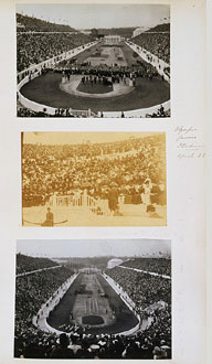 Royal Pictures of the 1906 Olympics Games
