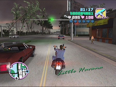 GTA: Vice City cruising through Little Havana