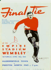 A picture of the 1938 F.A. Cup Final programme