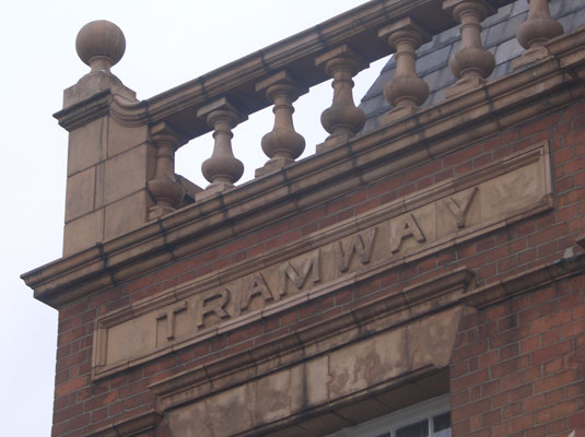 Tramway Office sign