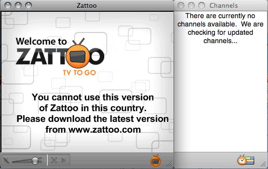 No Zattoo