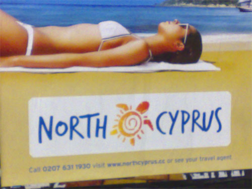 North Cyprus tourism poster