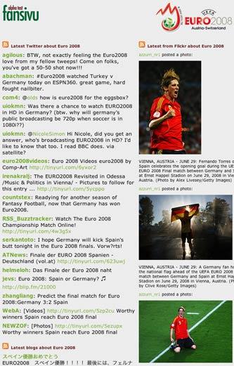 Final Fansivu homepage