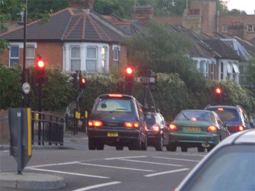 Google spycam in Walthamstow