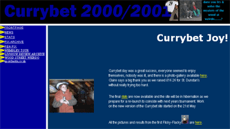 Currybet site in 2000