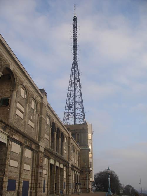 Alexandra Palace antenna