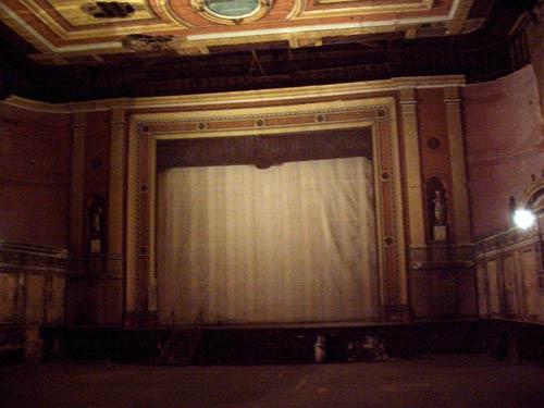 Victorian Theatre stage