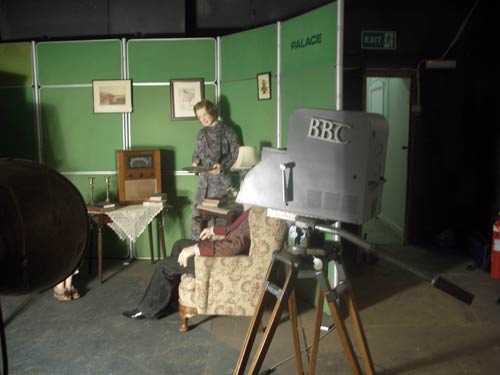 Alexandra Palace TV studio