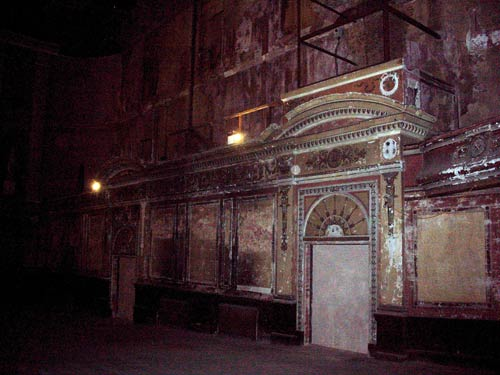 Walls of the Victorian Theatre