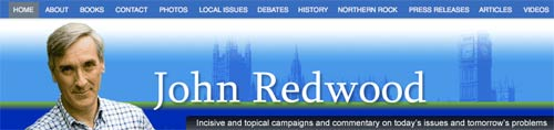 John Redwood blog banner