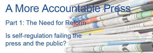 Media Standards Trust banner