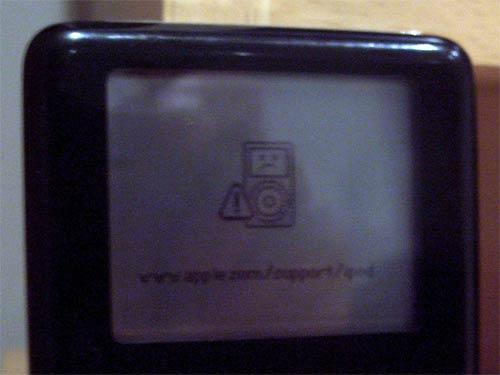 Unhappy iPod
