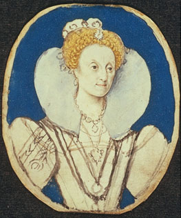 Miniature of Elizabeth I
