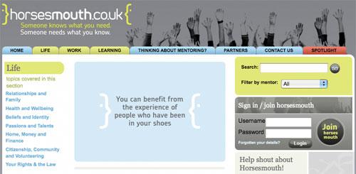 Horsesmouth homepage