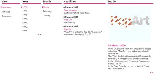 Pet Shop Boys website