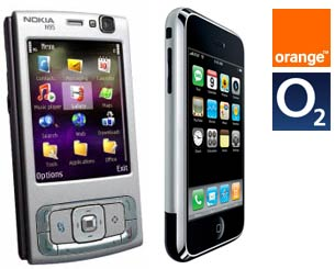 Nokia N95 and iPhone face-off