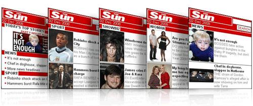 The Sun's mobile promo