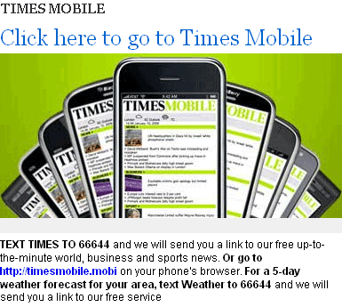 Times Mobile promo