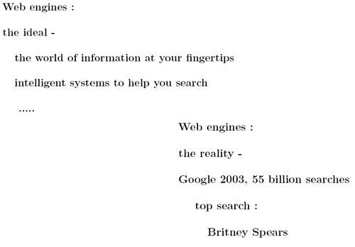 Professor Spärck Jones slides from the Infonortics Search Engine meeting
