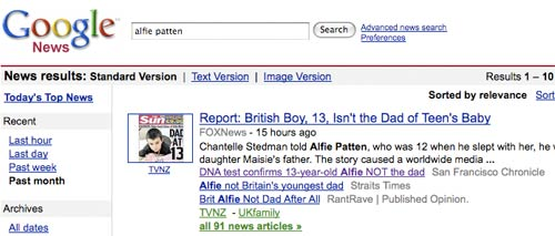google news uk