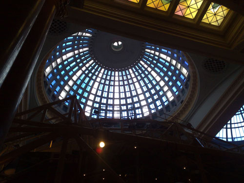 The Royal Exchange ceiling