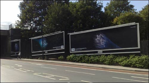 BT fibre billboards