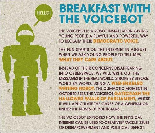 Voicebot invite