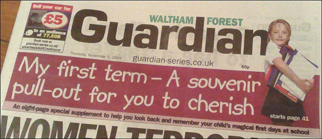 My First Term Waltham Forest masthead