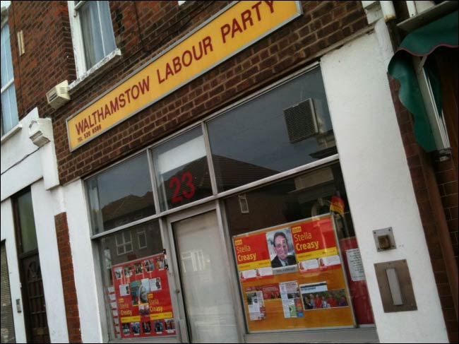 Labour Walthamstw Party office