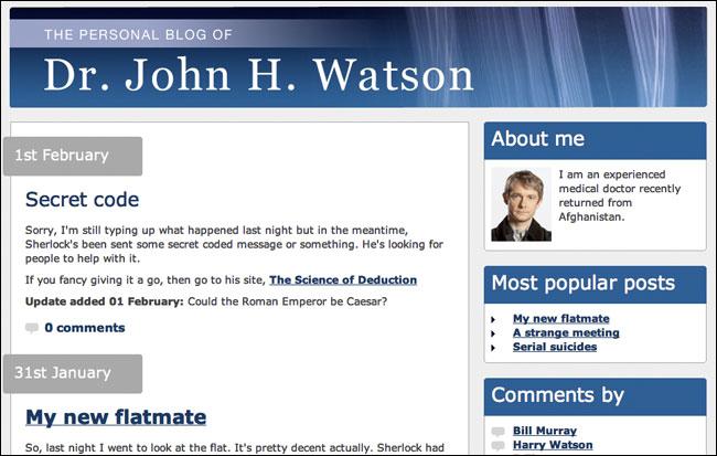 John Watsons Blog