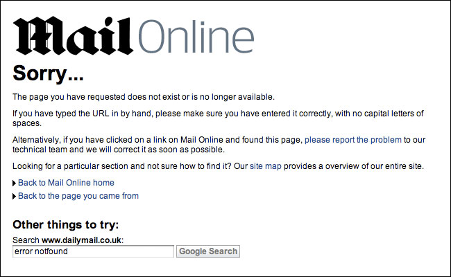 But the Mail story 404s