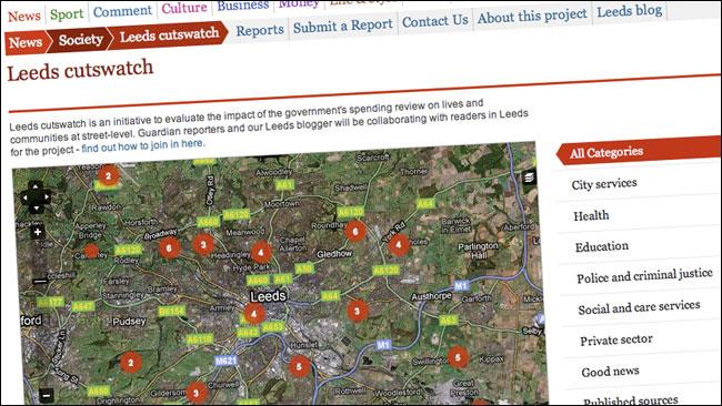 Cutswatch in Leeds online