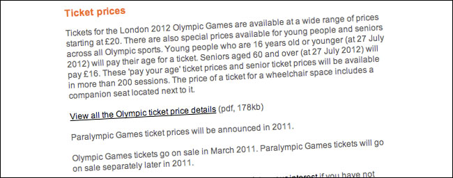 Olympic ticket prices PDF download